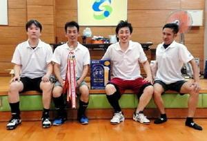 第54回ミニバレーボール交流大会 男子優勝のBEAST