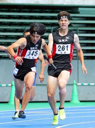 全九州高校体育大会、5競技開催 佐賀工、男子400mリレーV 卓球男子団体・北陵、レスリング女子・大鋸(鹿島)が全国へ