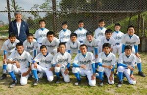 守り勝つ野球を目指す西唐津中野球部