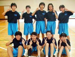 武雄青陵中・女子バスケットボール部