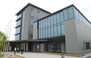 佐賀市多布施に建設された松尾建設の新社屋