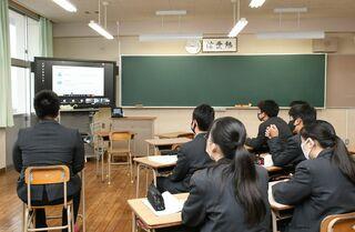 白石高生、AI学ぶ 日本マイクロソフトが講義