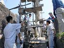 江戸時代の水車よみがえる 建築科の地域貢献
