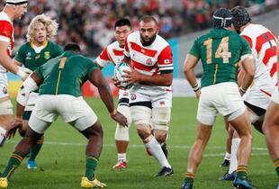 日本、4強懸け南アフリカと対戦
