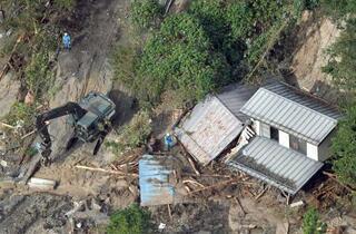 台風死者、12都県80人に