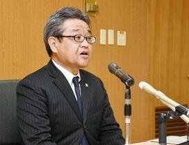 松井新検事正が着任会見 「身の引…