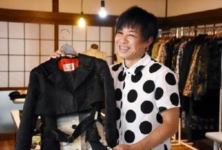 Visitor.008 田代淳也(ファッションデザイナー)人と共に成長する服