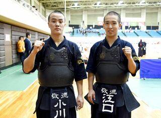 剣道男子個人・敬徳2選手8強入り 全国高校総体