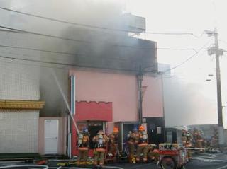 大宮の風俗店火災で4人死亡