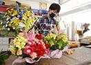 <新型コロナ・支援の輪>「花で癒やしを」 花店「はなまい…