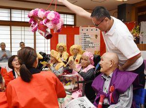 百寿を祝う 佐賀向陽園で敬老式典