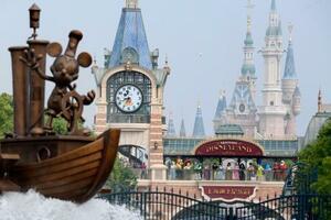 中国・上海ディズニーリゾート=2020年5月(共同)