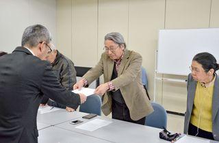 原子力防災訓練、県に改善を要望 反原発団体