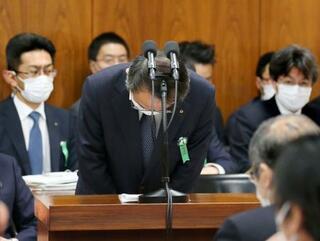 関電社長、衆院で金品受領を謝罪