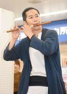 「唐津観光大使」に篠笛奏者・佐藤さんと愛しとーと・岩本さ…