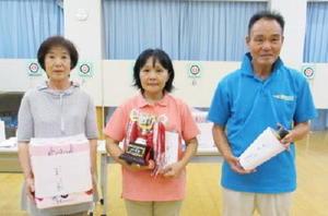 佐賀ヤマトスポーツ吹矢クラブ8月例会の上位入賞者