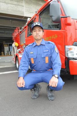 新入団員紹介(5)みやき町消防団三根分団本部 真島克典さん 25歳