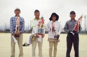 千代田GG協会6月定例会の上位入賞者