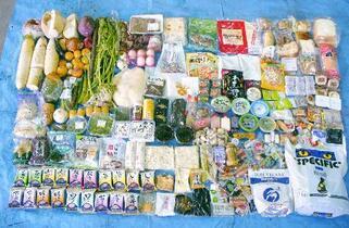 家庭の食品ごみ、年5・7億トン