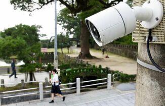 防犯カメラで犯罪減る? 佐賀県警…