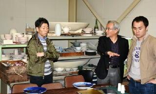 有田焼×著名人世界出品へ着々 来年1月、仏で国際見本市