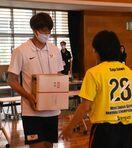 <SSP杯・第4日>トヨタ紡織九州が激励 ハンドボール