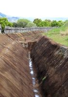 現在復元されている外環壕