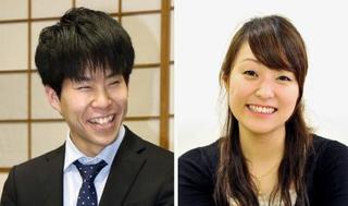 囲碁棋士の伊田と万波が結婚
