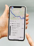 グーグルマップでバス検索 昭和自動車が運行情報