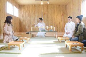 整備された「吉田茶室」=嬉野市嬉野町吉田地区