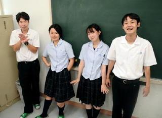唐津青翔編 ものまね四天王、レパートリーは先生の口癖!
