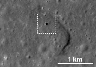 月の地下に巨大な空洞
