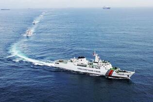 中国、武器使用認める海警法成立