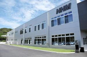 完成した日本ハードメタルの九州北方工場=武雄市北方町
