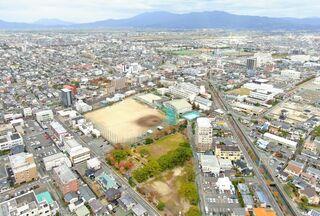 <空さんぽ 学校のある風景(45)>佐賀商業高校周辺