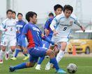 県高校サッカー新人大会致遠館など8強