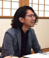 審判を務めた、アールテクニカ代表・古瀬学さん(佐賀市出身)