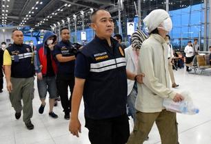 タイから移送、15人逮捕