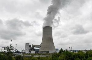 ドイツ西部ダッテルンの石炭火力発電所=3日(AP=共同)