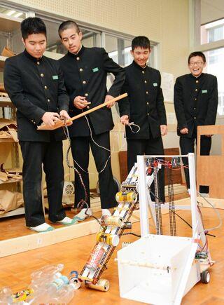 多良中 県ロボコン大賞 九州大会の2部門に出場へ