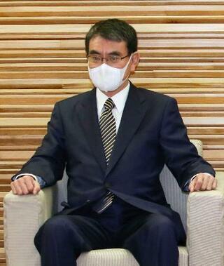 河野氏、部会批判発言を撤回
