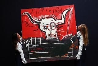 画家バスキアの絵12億円で落札