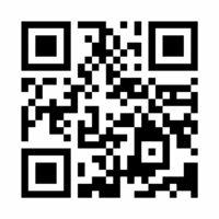 塾のウェブサイトのQRコード