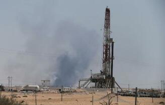 石油施設攻撃「イラン方向から」