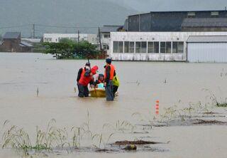 佐賀大雨から1カ月