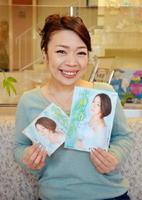 新曲「十勝の春」をPRする演歌歌手の戸川よし乃=佐賀市の佐賀新聞本社