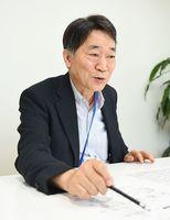 県社会保険労務士会会長の北村鐡夫さん