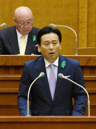 知事、諫早干拓開門予算見送り「遺憾」 県議会開会