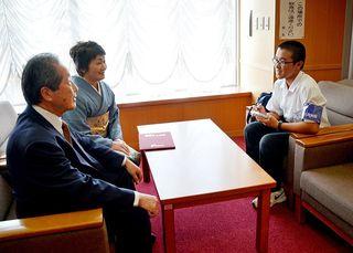 佐賀新聞社で職場体験(4)