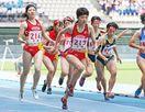 佐賀北3連覇 女子1600メートルリレー